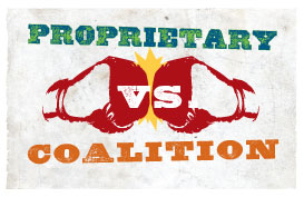 COALITION VS PROPRIETARY
