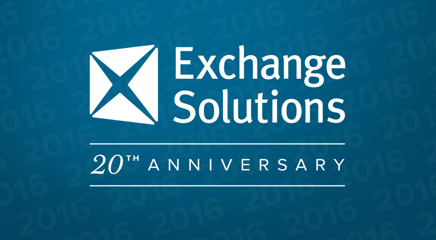 Blog exchange solutions 2016 marks the 20th anniversary of exchange solutions fandeluxe Choice Image