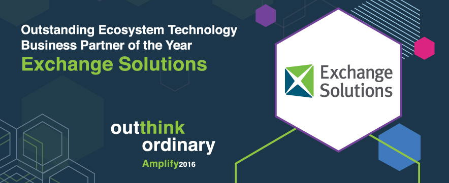 Blog exchange solutions exchange solutions wins top honor at ibm amplify 2016 fandeluxe Choice Image