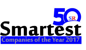 Silicon Review 50 Smartest Companies of the Year 2017 logo