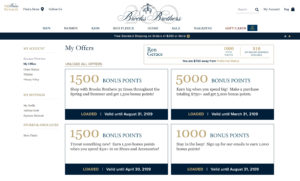 Brooks Brothers ES Loyalty Boost